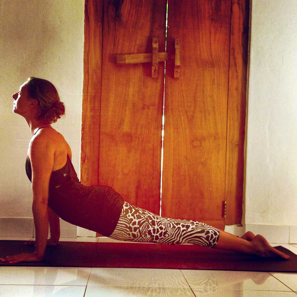 Hatha yoga position