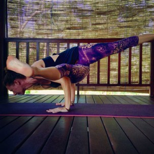 Arm balance practise