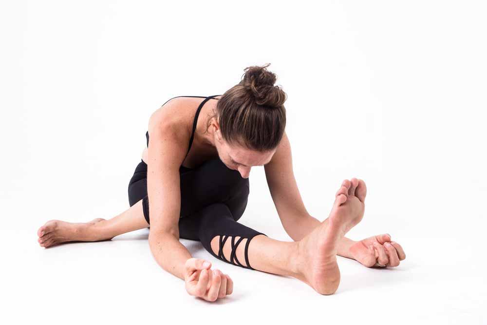 Yin Yoga pose