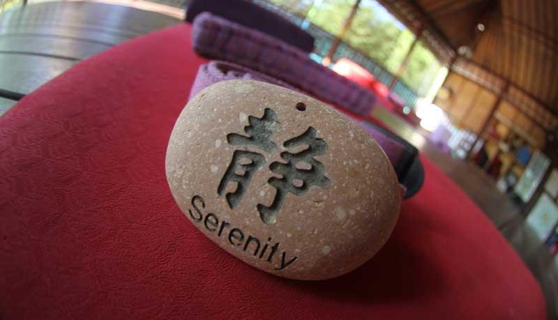 Serenity Yoga stone