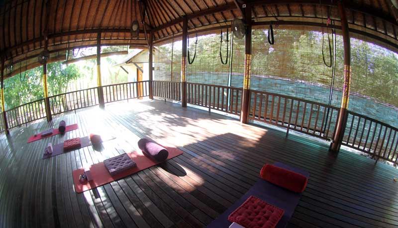 Yoga Shala at Serenity Yoga Lembongan
