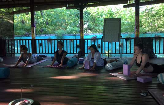 Finding your inner self on a YTT300 at Serenity Yoga Lembongan