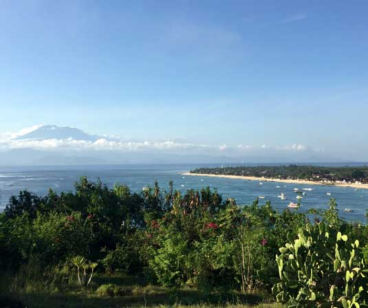 Daily life on Nusa Lembongan